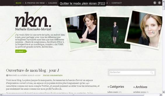 Nathalie Kosciusko-Morizet - Google Chrome