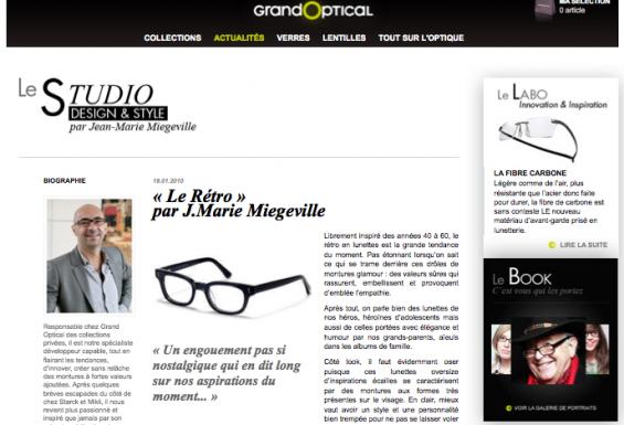 GrandOptical- Le Studio