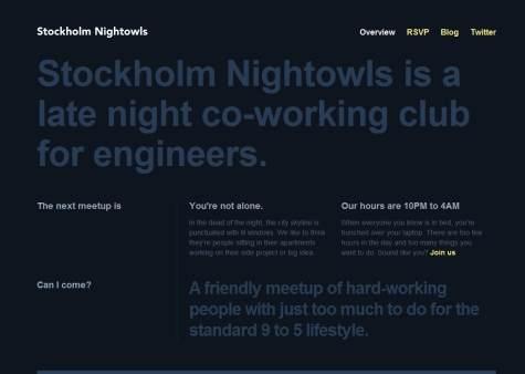 Stockholm  Nightowls
