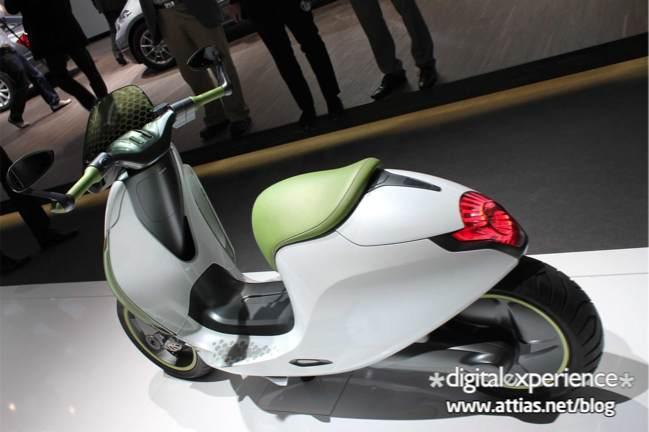 Mondial de l'Auto 2010 : SMART escooter