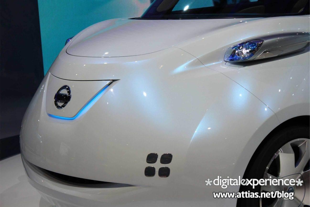 Mondial de l'Auto 2010 : Nissan TownPod