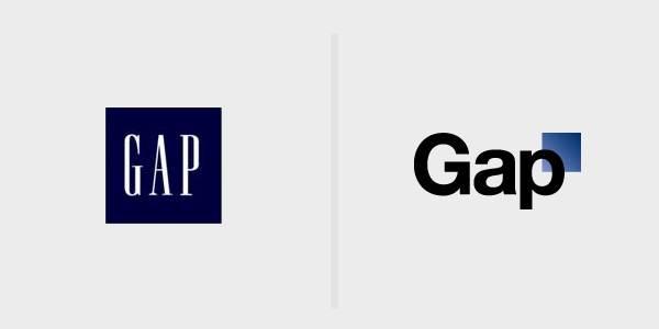 new gap logo gap change de logo. Black Bedroom Furniture Sets. Home Design Ideas