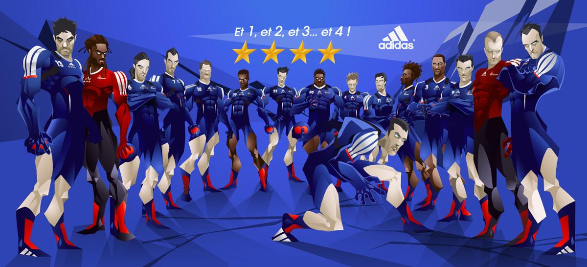 Adidas fête les experts !