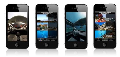 Découvrez l'application Renault Experience