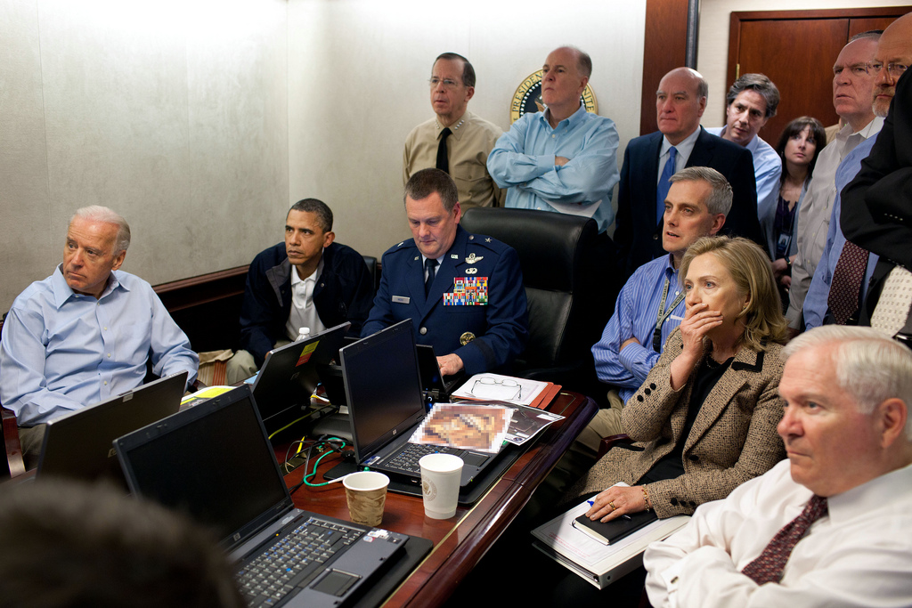 Barack Obama in situation room : photo la plus vue sur Flickr !