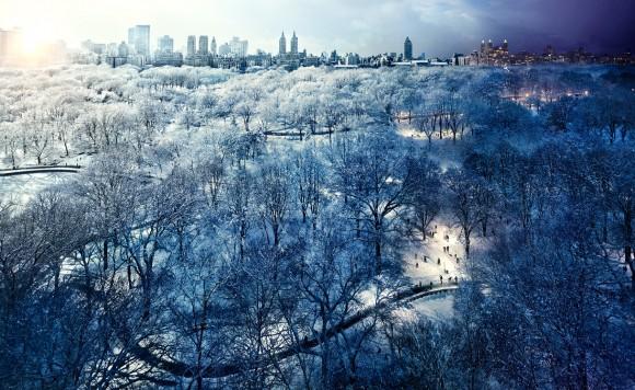 Stephen Wilkes Central Park, 2010