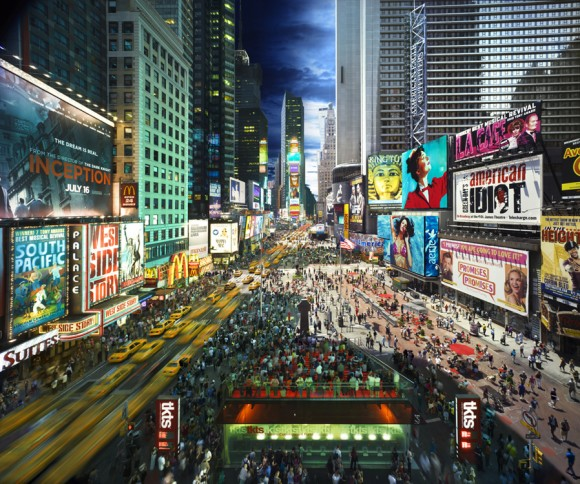 Stephen Wilkes Times Square, 2010