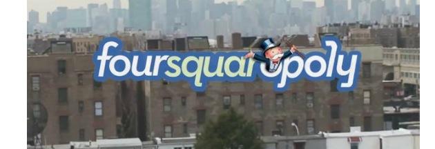 Foursquaropoly, ou la ville devient un jeu