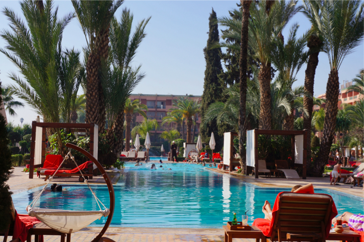 Sofitel marrakech a fait plaisir - Piscine sofitel marrakech ...