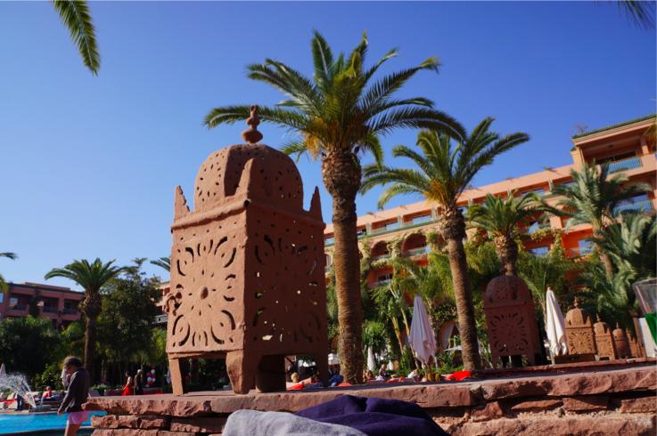 Sofitel Marrakech, ça fait plaisir.