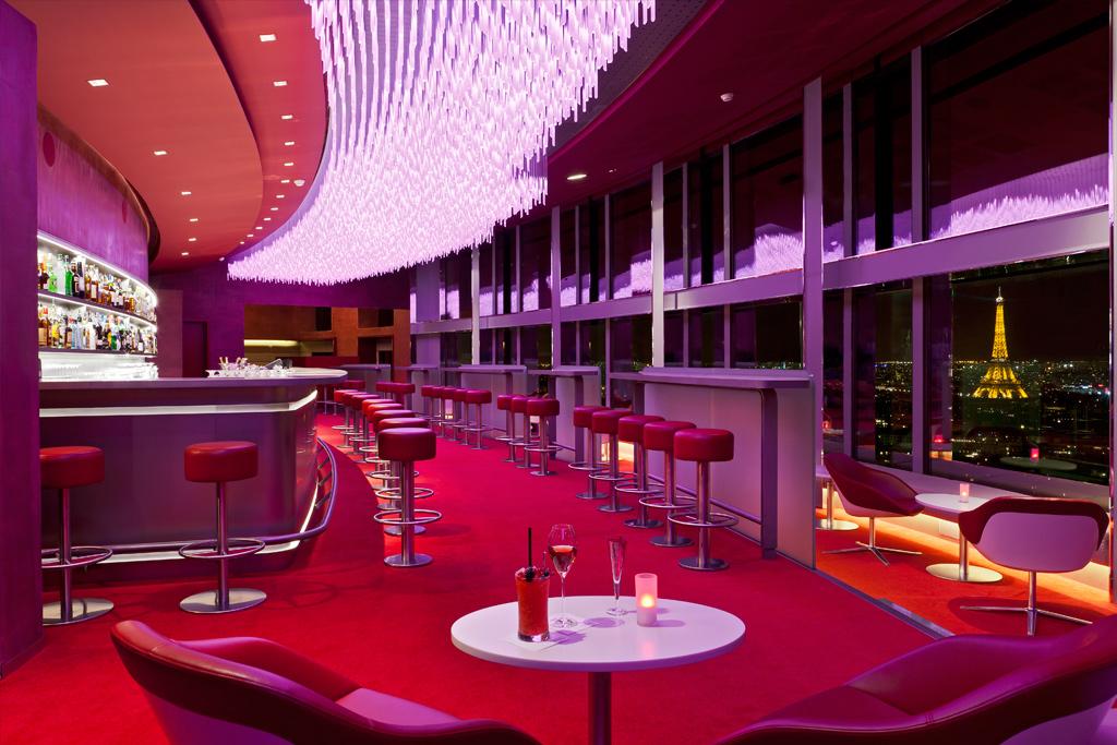Le nouveau bar La Vue au Concorde Lafayette