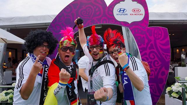 Experiencekia – 1/2 finale #euro 2012 à Varsovie