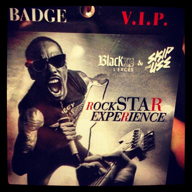 Black XS x Skip The Use x Rock Star Experience
