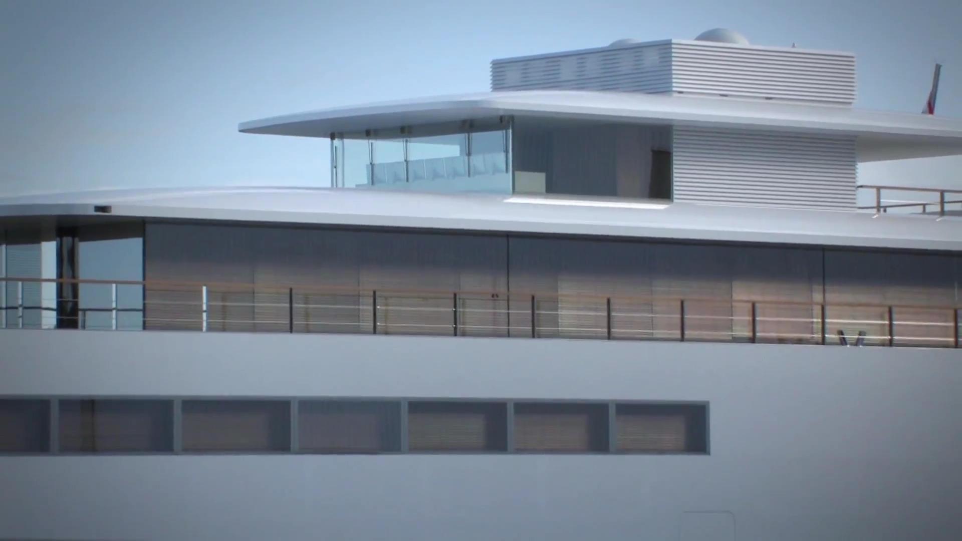 'Venus' le super yacht imaginé par Steve Jobs