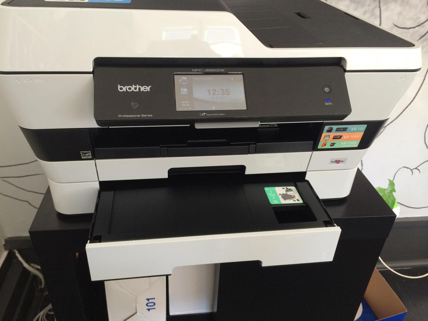Brother imprimante mac