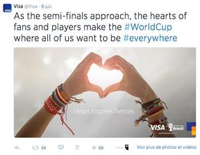 Visa Tweets FIFA World Cup12