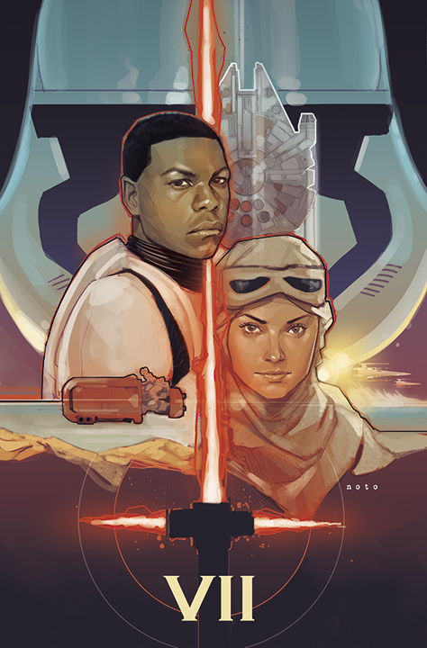 Star Wars - The Force Awakens  - Copyright : Phil Noto