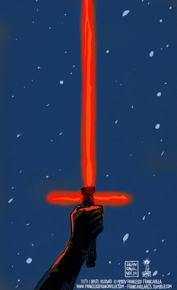 Star Wars - The Force Awakens - Francesco Francavilla