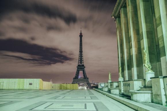 Trocadero -  Desert in Paris - © Genaro Bardy