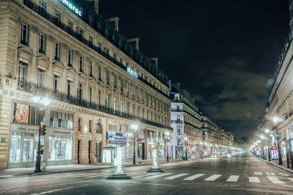 Avenue de l'Opéra - - Desert in Paris - © Genaro Bardy