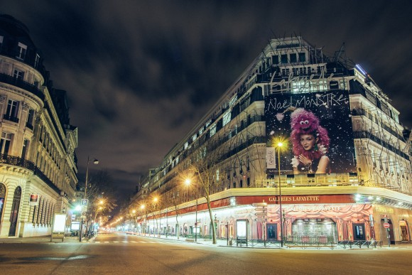 oulevard Haussmann - Desert in Paris - © Genaro Bardy