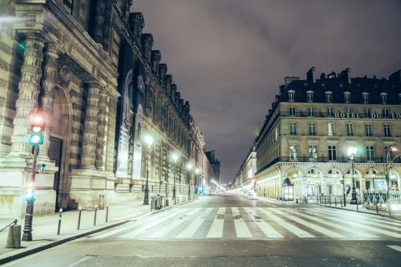 Rue de Rivoli - Desert in Paris - © Genaro Bardy
