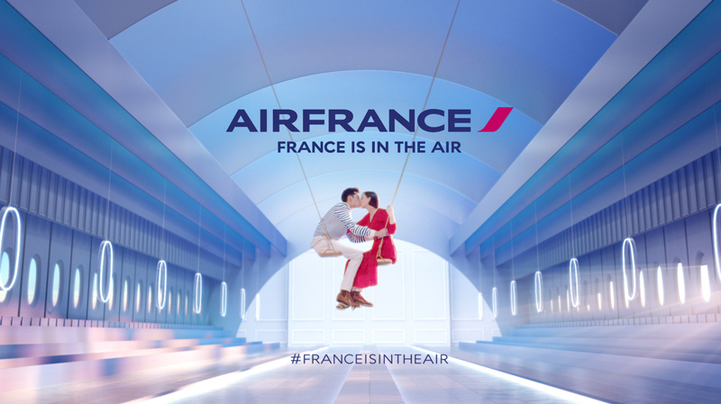 France is in the Air – la campagne et le making of
