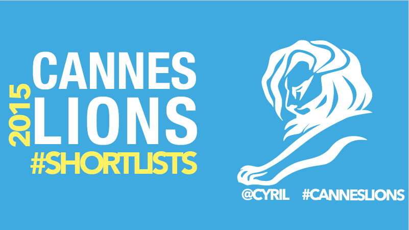 Creative data, Shortlist #CannesLions2015