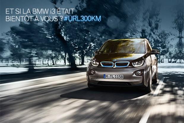 300KM en BMW i3 !