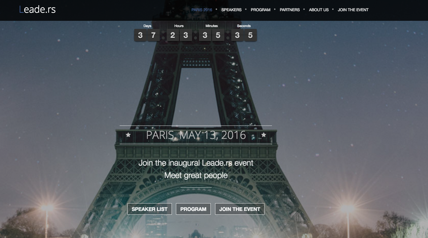 Paris Leade.rs by Loic – May 13th