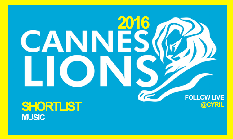 Music Lions Shortlist