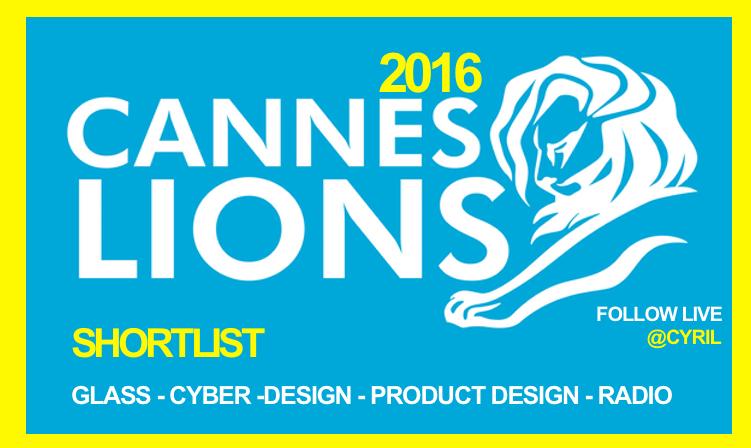 Cyber Lions Shortlist 2016