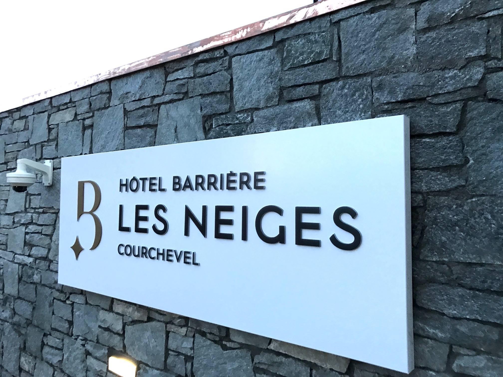 Hôtel Barrières – les neiges Courchevel