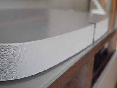 Test de la Sonos Playbase : la barre de son design et discrète.