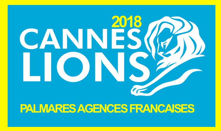 Le palmarès des agences françaises Cannes Lions 2018