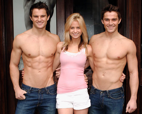 Abercrombie & Fitch in-store models