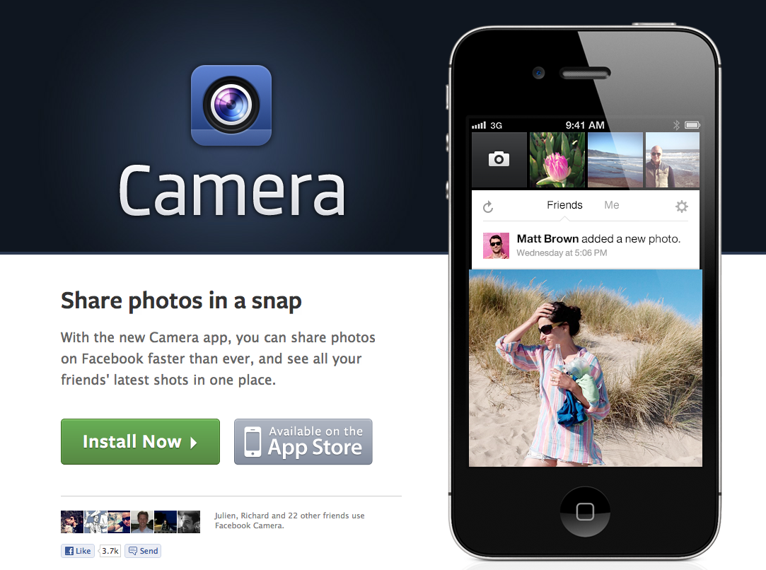 facebook_camera_application